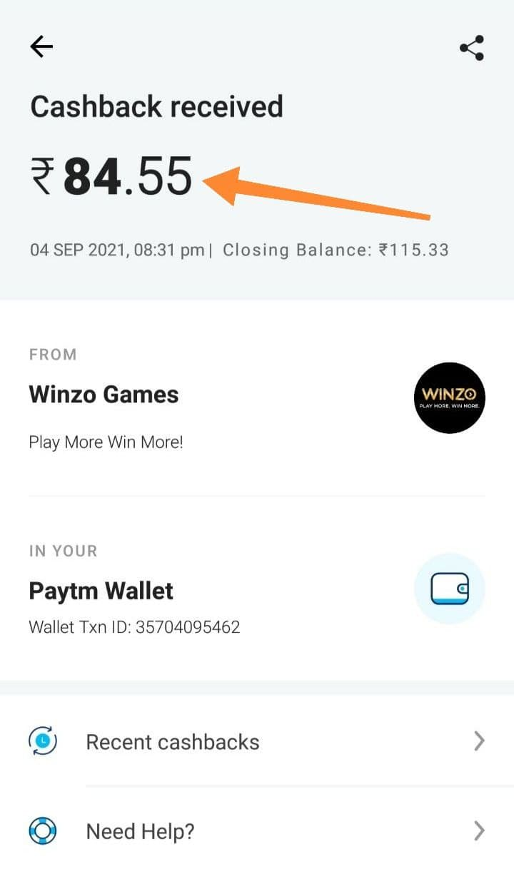 WinzoGold Payment Proof